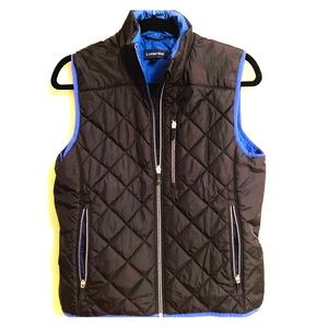 Quilted Puff Vest from Lands End
